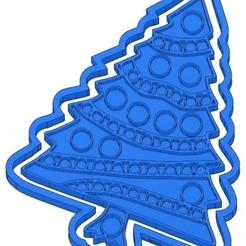 Sans titre 3.jpg Télécharger fichier GCODE 2 MOULES À BISCUIT NOËL - PÈRE NOËL - BONHOMME DE NEIGE - SAPIN - BOULE DE NOËL - EMPORTE-PIÈCES - CADEAU - RENNE - COOKIE CUTTER- COUPE BISCUIT- POCHOIR • Objet imprimable en 3D, cfl0