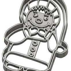 EMPORTE-PIECE ENFANT.jpg Télécharger fichier GCODE 2 Moules à Biscuit Noël - Père Noël - Bonhomme de neige - Sapin - Boule de Noël - Emporte-pièces - Cookie cutter- Coupe Biscuit- pochoir • Plan pour imprimante 3D, cfl0