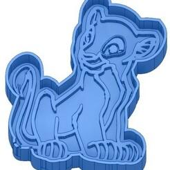 EMPORTE-PIECE LE ROI LION.jpg Télécharger fichier GCODE 2 Moules à Biscuit - Disney - Princesses - Mickey - Dingo - Bambi - Le roi lion - Pinocchio - Pluto - Frozen - Dumbo - Aladin - Emporte-pièces - Cookie cutter- Coupe Biscuit • Design pour imprimante 3D, cfl0