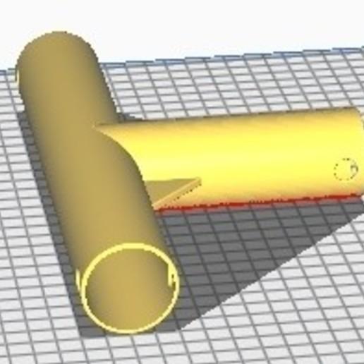 Sans titre 1.jpg Télécharger fichier GCODE gratuit Tuyau en T • Objet à imprimer en 3D, cfl0