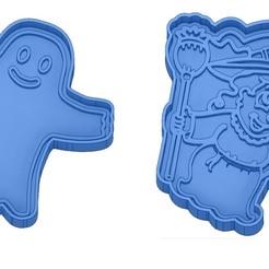 Sans titre 41.jpg Télécharger fichier GCODE Moules à Biscuit - Halloween - Sorcière - Citrouille - Fantôme - Araignée - Chauve-Souris - Emporte-pièces - Cookie cutter- Coupe Biscuit • Plan pour impression 3D, cfl0