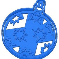 Sans titre 2.jpg Download GCODE file 2 Christmas Cookie Moulds - Santa Claus - Snowman - Christmas tree - Christmas ball - cookie cutter - cookie cutter - cookie cutter - stencil • 3D print model, cfl0