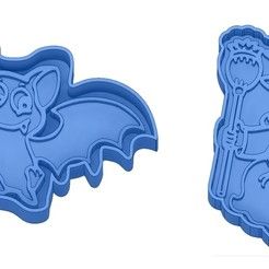 Sans titre 47.jpg Download GCODE file Biscuit Moulds - Halloween - Witch - Pumpkin - Ghost - Spider - Bat - Cookie Cutter - Cookie cutter • 3D printer design, cfl0