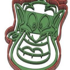 GENIE.jpg Télécharger fichier GCODE 2 Moules à Biscuit - Disney - Princesses - Mickey - Dingo - Bambi - Le roi lion - Pinocchio - Pluto - Frozen - Dumbo - Emporte-pièces - Cookie cutter- Coupe Biscuit • Objet à imprimer en 3D, cfl0