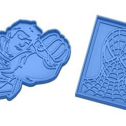 Sans titre 14.jpg Download GCODE file Biscuit Moulds - Captain América - Superman -Spiderman - Winnie the pooh - Winnie the pooh - Cookie cutter - Cookie cutter- Biscuit cutter • 3D printable design, cfl0