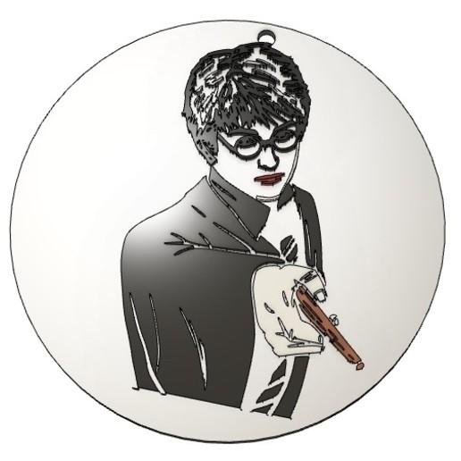 Download GCODE file Harry Potter Medal 3,5cm • 3D printer template, cfl0