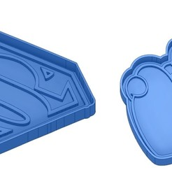 Sans titre 13.jpg Télécharger fichier GCODE Moules à Biscuit - Captain América - Superman -Spiderman - Winnie l'ourson - Winnie the pooh - Emporte-pièces - Cookie cutter- Coupe Biscuit • Design imprimable en 3D, cfl0