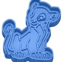 EMPORTE-PIECE LE ROI LION.jpg Télécharger fichier GCODE 2 Moules à Biscuit - Disney - Princesses - Mickey - Dingo - Bambi - Le roi lion - Pinocchio - Pluto - Frozen - Dumbo - Emporte-pièces - Cookie cutter- Coupe Biscuit • Objet à imprimer en 3D, cfl0