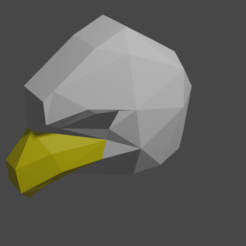 aguila1.png Download free STL file Eagle mask/Eagle mask costume • 3D printable model, amarey192