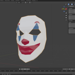 joker1.png Download free STL file Human face/joker mask • 3D printing model, amarey192