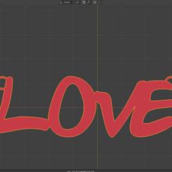 LOVE1.png Télécharger fichier STL gratuit J'ai dit, porte-clés, amour • Objet pour imprimante 3D, amarey192