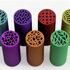 TEX1mejorrecord con logo.png Télécharger fichier STL Conseils pour les filtres - Textures d'emballage (buses réutilisables) - Filtres à mauvaises herbes • Plan à imprimer en 3D, Weed420House