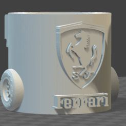 Mate Ferrari.png Download STL file Matt Ferrari • 3D printable template, JoaGB
