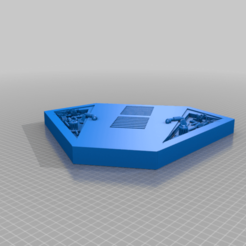 XQ2s_Platform_top.png Télécharger fichier STL gratuit Station spatiale XQ-2s (échelle X-Wing) • Design pour impression 3D, sulecen