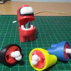 WhatsApp Image 2020-10-20 at 14.31.30 (1).jpeg Download STL file Among Us Figurine (Crew&Impostor) • 3D print model, bennisanjaya