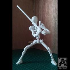 Télécharger fichier STL gratuit Cadre de la figure d'action Ver.01 • Objet pour impression 3D, bennisanjaya