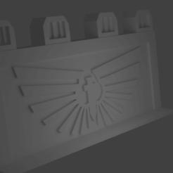 roadbarrier.png Download STL file 40k Road Barrier • 3D printing template, Bohchamp