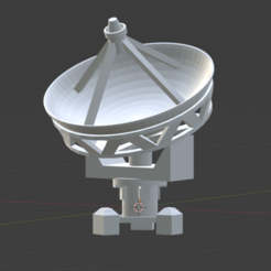 satellite_dish.png Download STL file Satellite Dish • Object to 3D print, Bohchamp