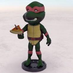 Rafael.35.jpg Télécharger fichier STL Raphael TMNT • Modèle pour impression 3D, gilafonso