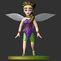 Download free STL file Fadinha (Fairy) • 3D printable model, gilafonso