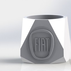 mate Fiat.JPG Download STL file Mate Fiat • 3D printer template, gino2206