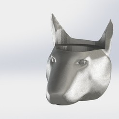 Bullterrier.JPG Download STL file Mate Bullterrier • 3D printing design, gino2206
