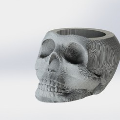 calavera.JPG Download STL file Mate Calavera • 3D printing model, gino2206
