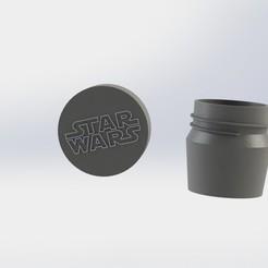 frasco starwars.JPG Download STL file Pack Mate Darth Vader • 3D printing design, gino2206