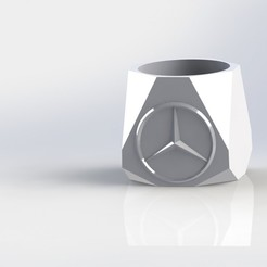 mate Mercedez.JPG Download STL file Mate MercedezBenz • 3D printing object, gino2206