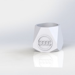 mate audi.JPG Download STL file Mate Audi • 3D print template, gino2206