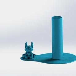 Stich.JPG Download STL file LiloyStich Napkin Ring • 3D printer model, gino2206