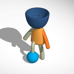 Descargar archivo STL robert plant futbol  • Plan de la impresora 3D, ivanmarsol8