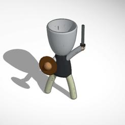 gladiador 1.png Télécharger fichier STL robert plant luchador • Objet à imprimer en 3D, ivanmarsol8
