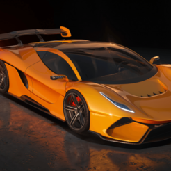 MainMovie.png Download OBJ file Sport Car Concept Animus-R High Quality  • Object to 3D print, leonardonitolem