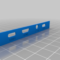 frontal_plate.png Download free STL file Anbernic RG350 frontal plate • 3D print object, Raven_Kilit
