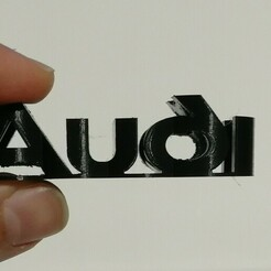 audi.jpg Download STL file Audi flip logo • 3D printer template, Raven_Kilit