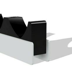 Immagine 2021-01-01 033643.jpg Télécharger fichier STL Station de recharge Dualsense ps5 • Plan pour impression 3D, Raven_Kilit