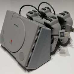 1.jpeg Download STL file Playstation classic mini stand • 3D printing object, Raven_Kilit