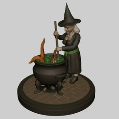 TURBO.jpg Download OBJ file Witch Brewery • Object to 3D print, fidad