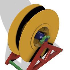 Bobina PLAST.AR v14.jpg Télécharger fichier STL gratuit Soutien aux bobines PLASTAR • Objet imprimable en 3D, WERKSATT3D