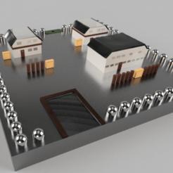 Pallet Tow 2n.png Télécharger fichier STL Pokemon : Pallet Town Map - Video Game Map • Design à imprimer en 3D, Benfosse