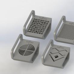 fujitsu.JPG Download STL file Laptop Stand • 3D printing model, GokBoru