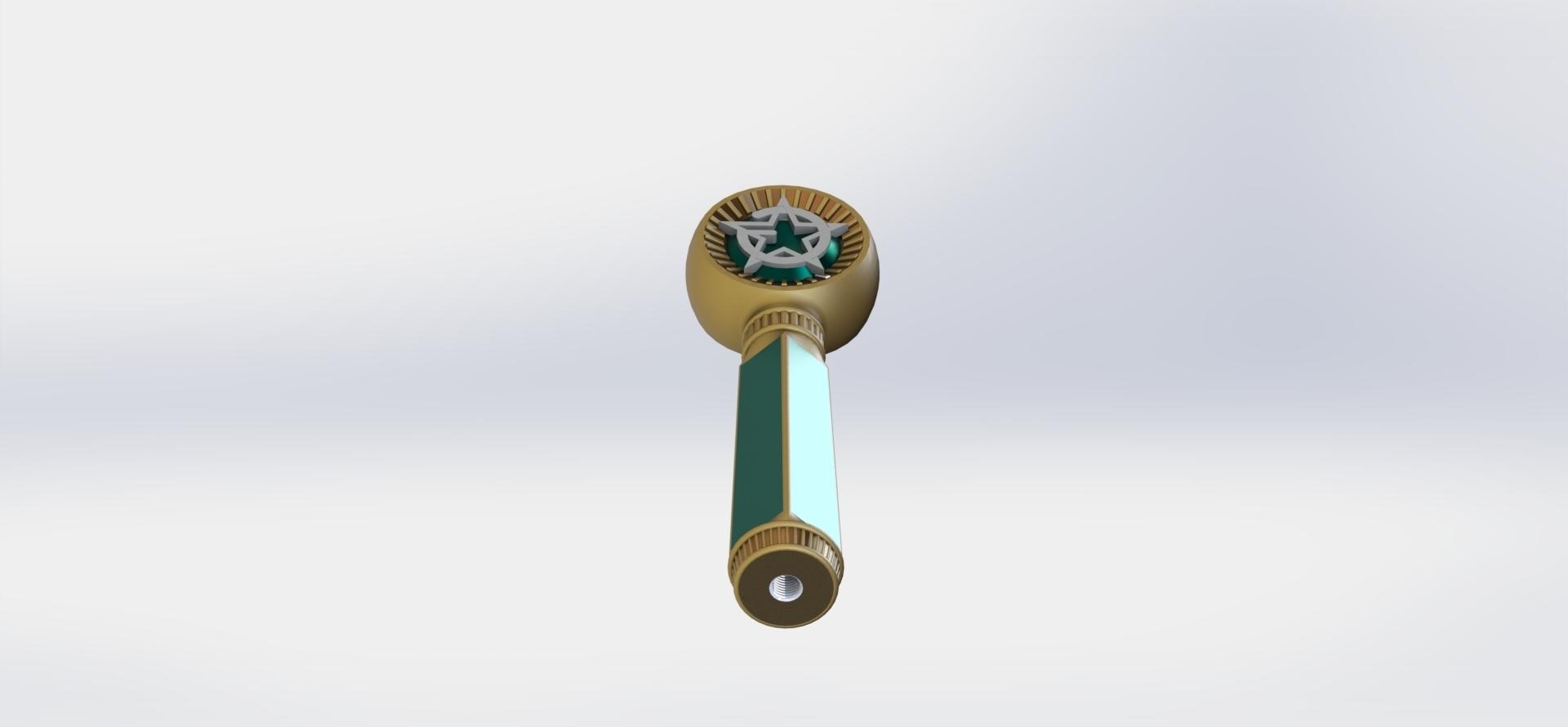 preview13.JPG Download STL file Masonic Ceremony Sword-Ready 3D Print • 3D printable template, GokBoru