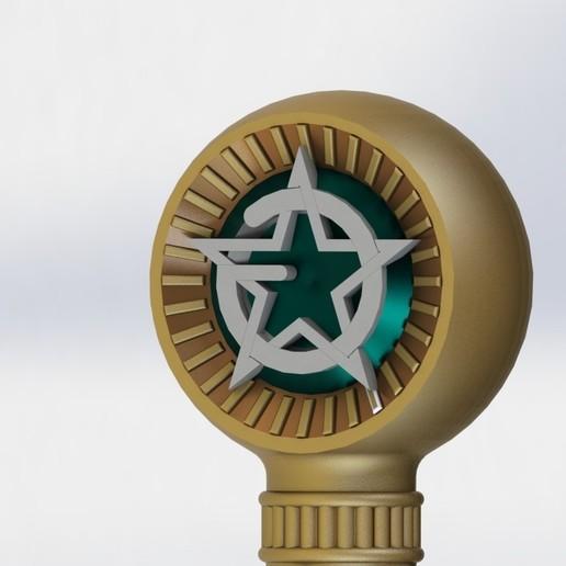 preview14.JPG Download STL file Masonic Ceremony Sword-Ready 3D Print • 3D printable template, GokBoru