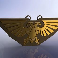 Aq v2.JPG Télécharger fichier STL gratuit L'Aquila impérial (Warhammer 40k) • Objet imprimable en 3D, comangamer