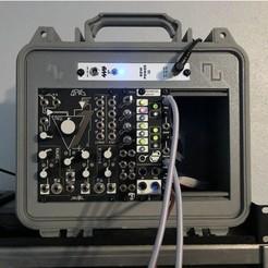 Pelican_1300_Case.jpg Download free 3MF file Pelican 1300 Eurorack Faceplate • 3D printer model, brawfx