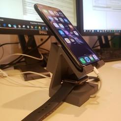 20201017_203531.jpg Download STL file Apple charging • 3D print design, peris