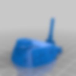 p3-g-turret_MANUAL_SUPPORT.stl Télécharger fichier STL gratuit Panzer 3 G 28mm divisée/modifiée pour faciliter l'impression et le montage • Modèle pour impression 3D, Ziddan