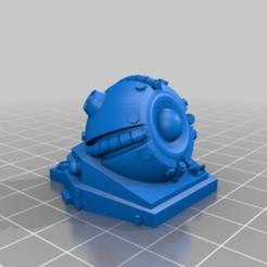 Télécharger fichier STL gratuit Tourelle Rift Tech Grav REMIX/rescale+pince de montage pour 1:56/28mm • Design pour imprimante 3D, Ziddan