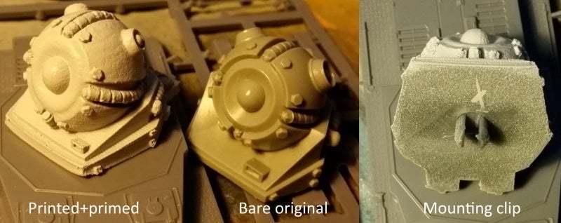 Example.jpg Télécharger fichier STL gratuit Tourelle Rift Tech Grav REMIX/rescale+pince de montage pour 1:56/28mm • Design pour imprimante 3D, Ziddan